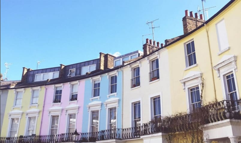 Lovely one bedroom flat overlooking Primrose Hill