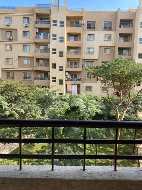 A quite 2-bedroom  apartment in Madinaty/Cairo