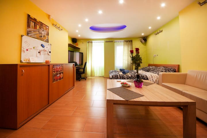 Apartment with jacuzzi in the center of Bratislava