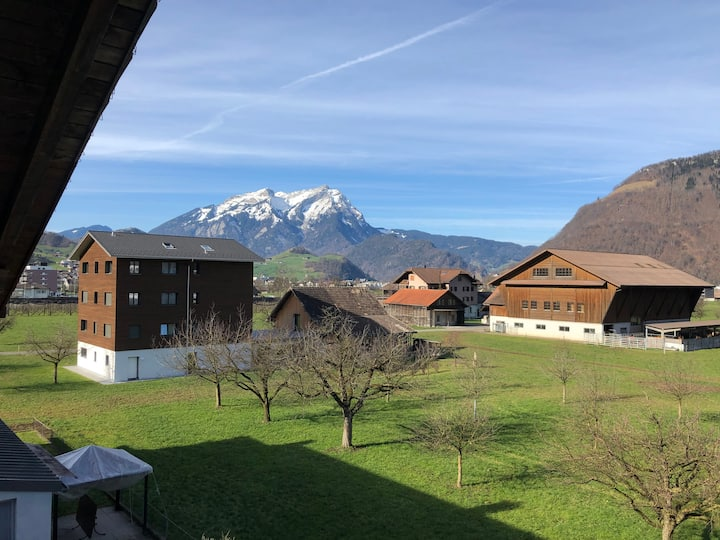 Gemütliche Wohnung im Herzen der Zentralschweiz