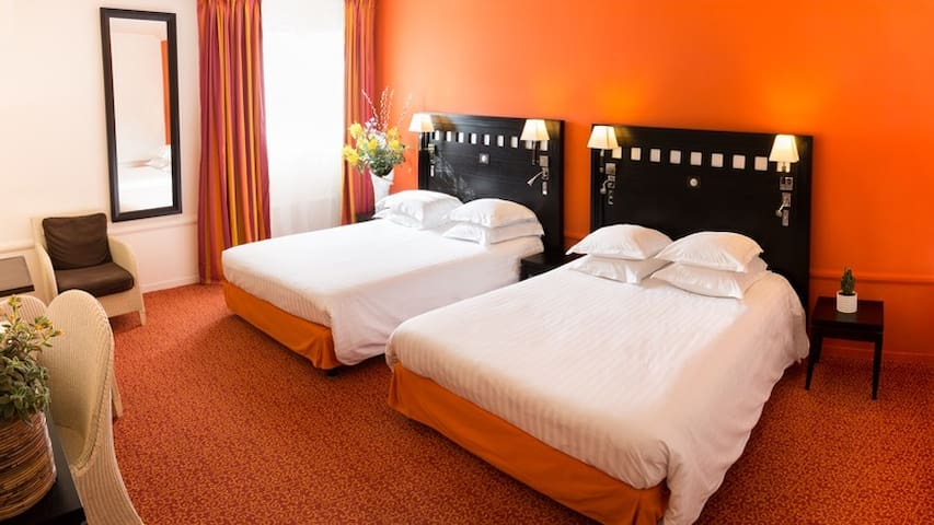 Large room perfect for lenght stay