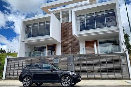 Modern house with an amazing view of Loja