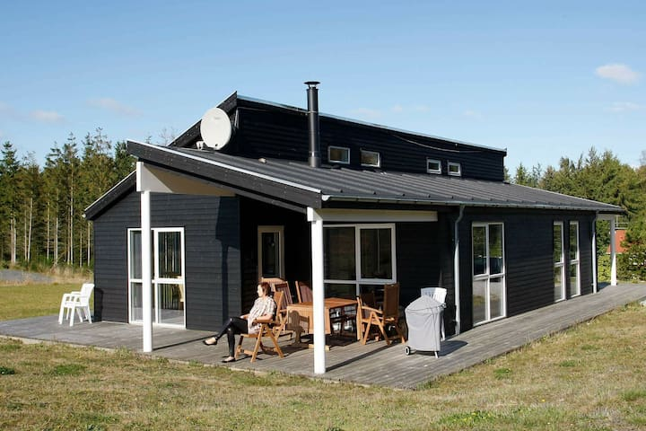 Spacious Holiday Home in Hojslev with Sauna