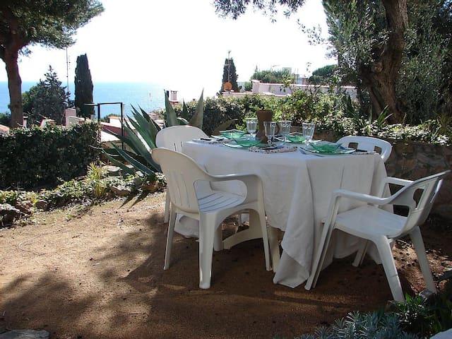 Loverly flat with garden and sea views near beach - Tossa de Mar - Apartament
