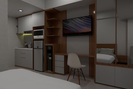"Apartemen Studio with ""Smart Home"" Eastern Green"