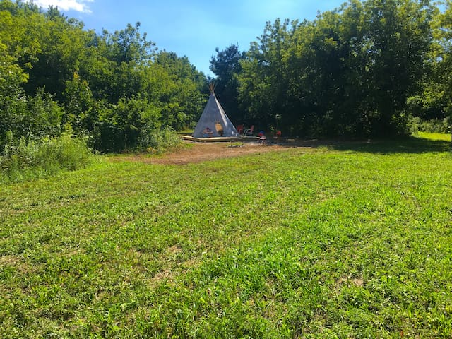 Get Away TiPi Near Lake Michigan