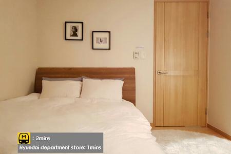 Private room+bathroom/2min subway - Guro-gu - Apartamento