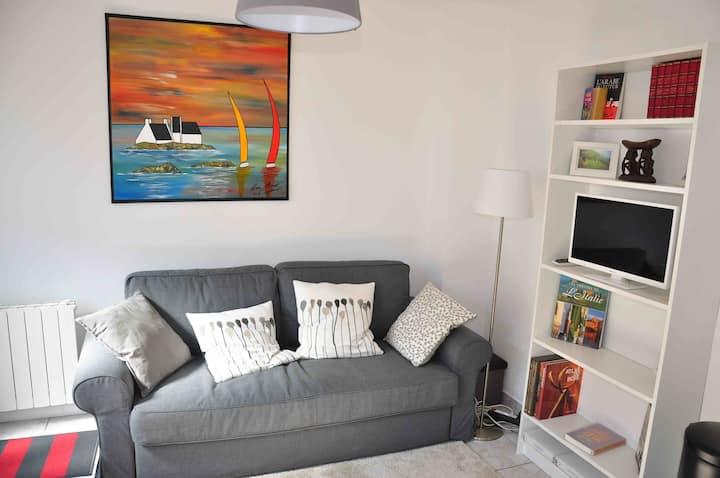 Appartement  refait à neuf à 2 pas de la mer