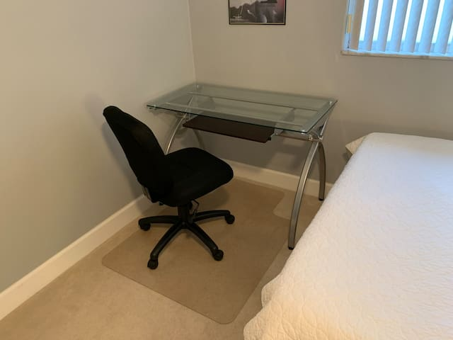Computer Desk In Room