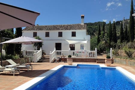Cortijo in rural area. Family Style,Luxury Comfort - Casarabonela