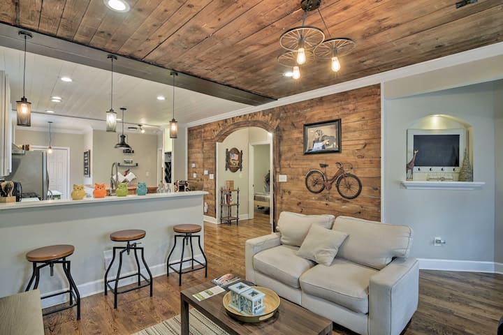 NEW! 'The Rustic' - Renovated Downtown Durham Home