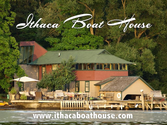 Ithaca Boat House-Cottage on Cayuga -Lower Unit - Ithaca - Daire