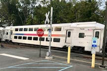 Annandale Train Station provides easy travel to NYC and the Jersey Shore