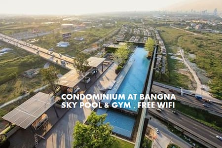 50%-Off per week SKY POOL&GYM @BKK AIRPORT