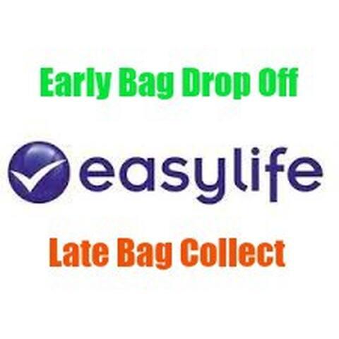 Secure Bag Lockers