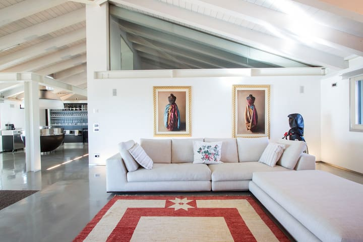 Skyloft : ático en Montebelluna - Montebelluna - Loft
