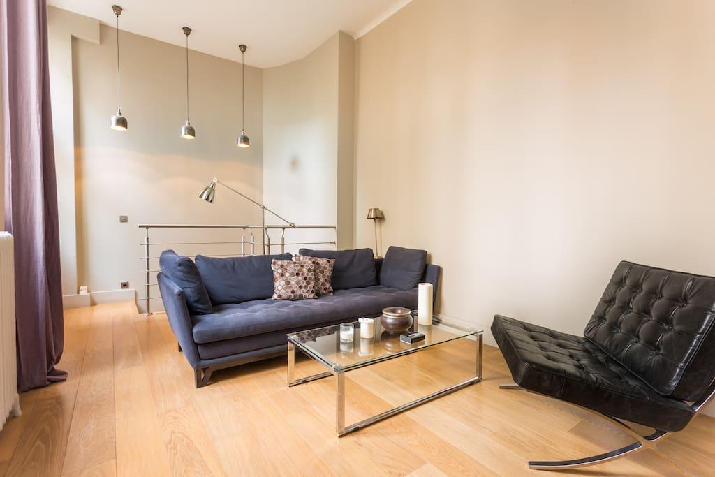 Salon Abecassis terrasse - living room