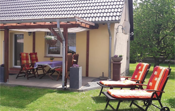Awesome home in Alt Schwerin with WiFi and 2 Bedrooms