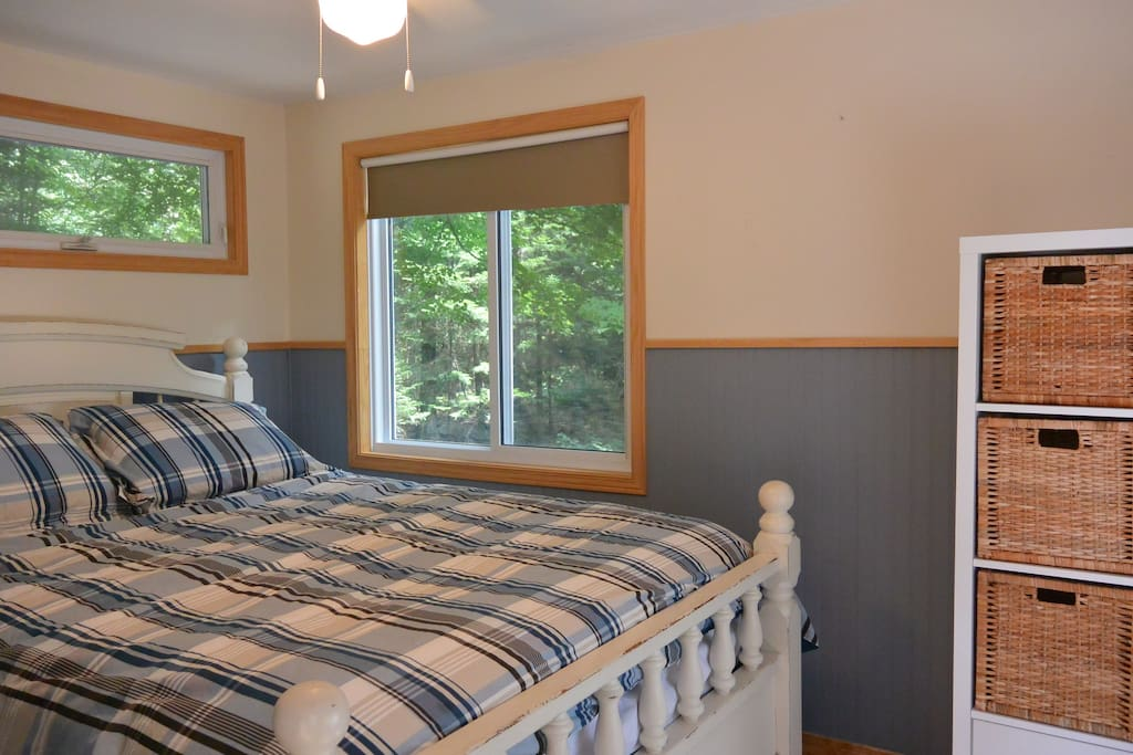 Enjoy the lake view from the comfort of the master bedroom