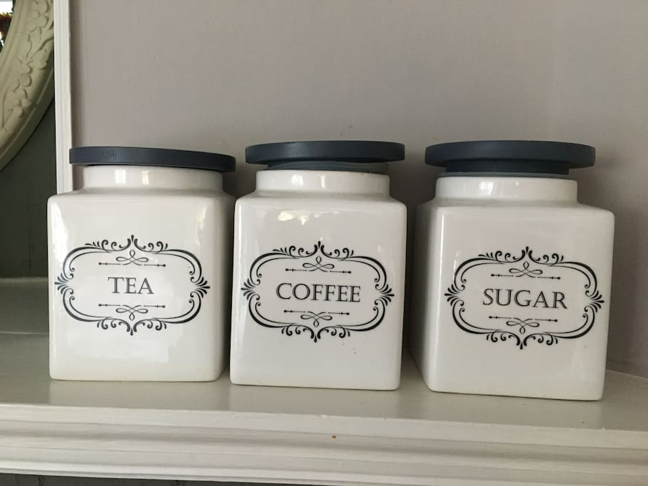 All rooms offer a selection of complimentary tea and coffee