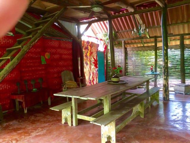 La Casa Blanca de San Andres - Savegre - Hütte