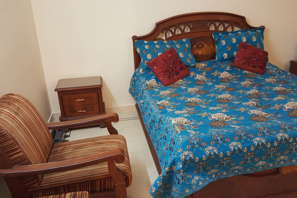 Blue Bedroom for The Master
