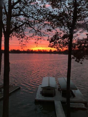 Serenity at the Brick lake house