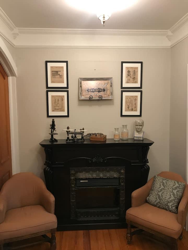 The Doctors Study - Iron Amethyst Inn