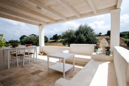 Masseria Racina  - IL LIMONE - オストゥーニ - 一軒家