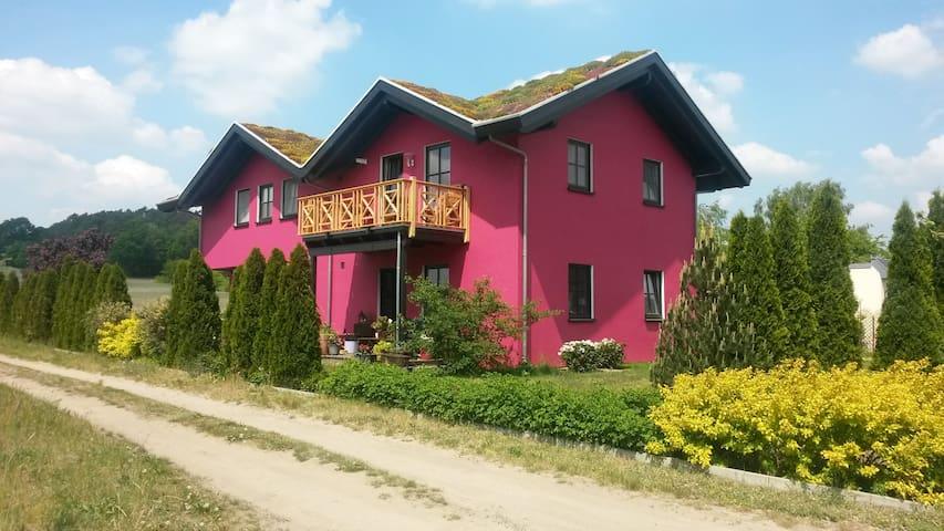 Ferienhaus mit Garten+Kamin (57) - Bad Saarow