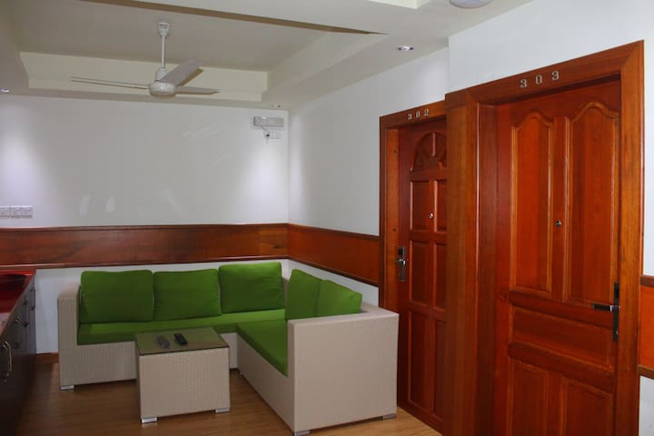 Living Space with Room