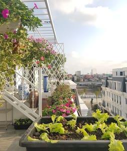 Beautiful studio apartment in Hoang Huy riverside