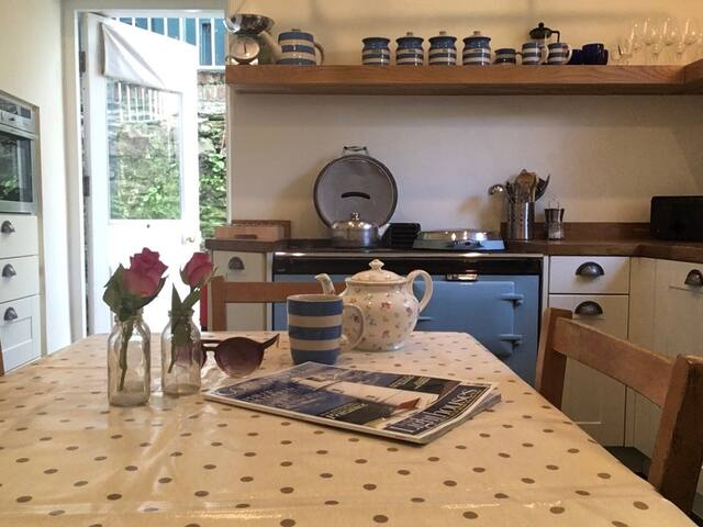 Jasmine Cottage, Fowey, Cornwall