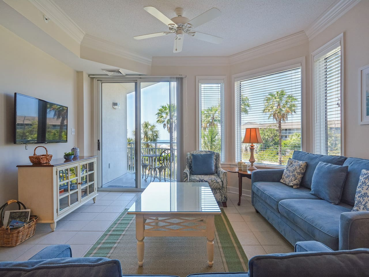 Living Room at 2208 Sea Crest