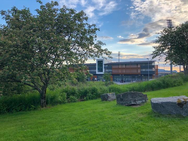 Moderne leilighet i Ulsteinvik.