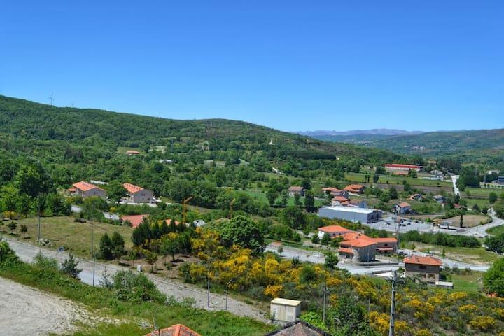 Vista do Terraço sobre Montalegre