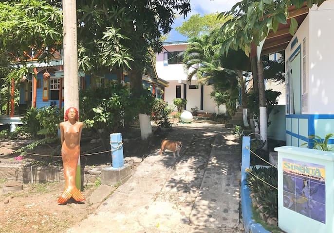 Cabañas La Sirenita Aptos Amoblados - Bahia del Suroeste - Leilighet
