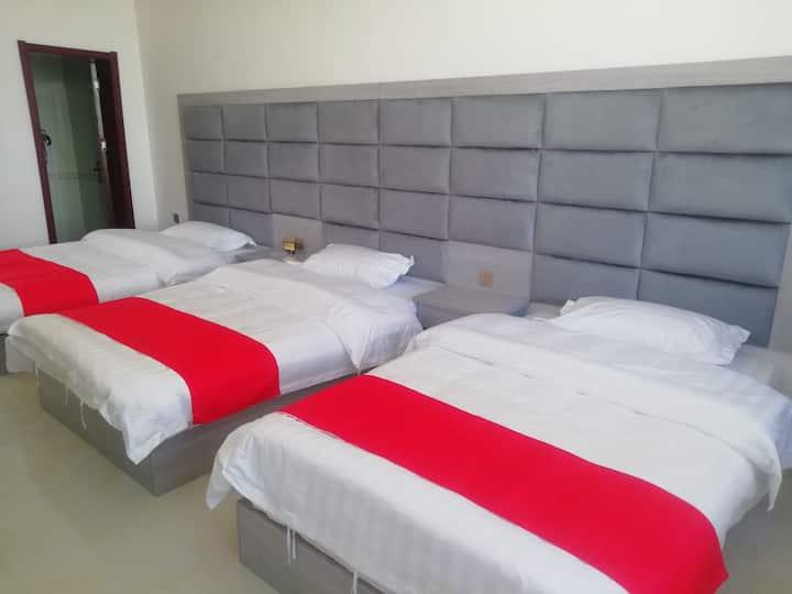 标准三床三人间