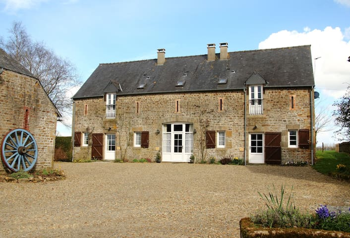 Le Hutereau - Three gites with a heated pool - Saint-Denis-de-Gastines - Casa