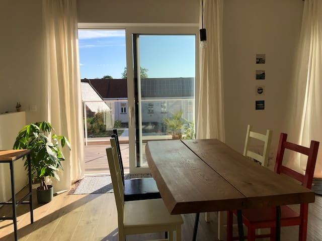 Spacious loft with a view in Kortrijk