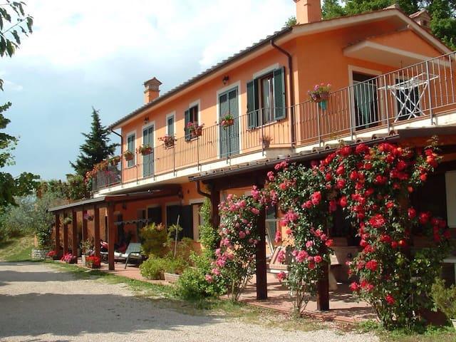 Ideale.A 20' da Spoleto e Terni. - Montefranco  - Huis