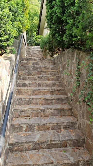 24 stairs outside