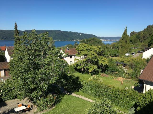 Sipplingen, mit herrlicher See-und Alpensicht