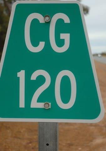 120km west of Coolgardie