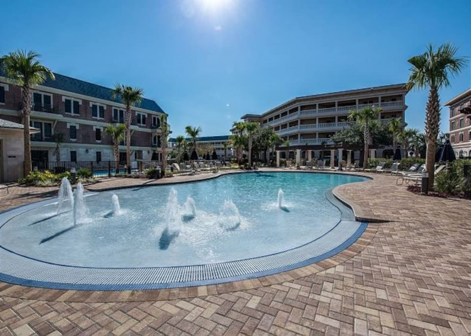 Spend the day at the largest pool along 30A.