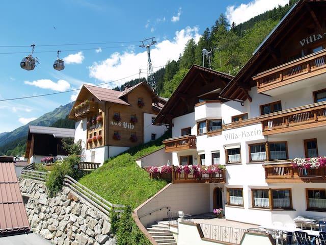 Villa-Karin Kappl/Ischgl Paznaun - Kappl - Apartamento