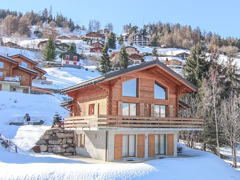 Chalet Champagne for 9 people with Sauna