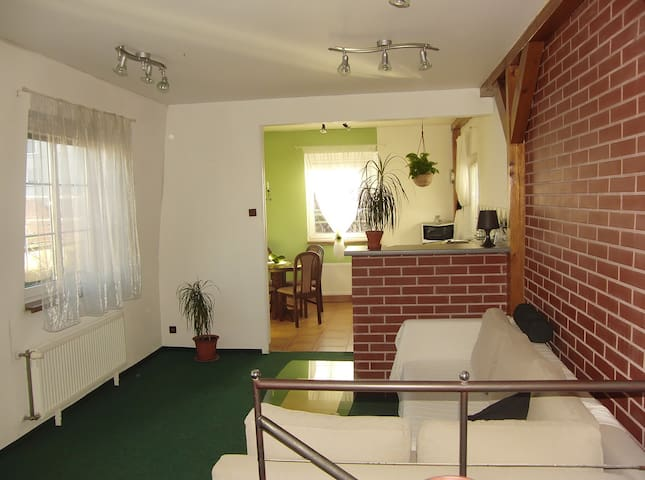 Cozy aparment free secure parking close to metro - Prag - Wohnung