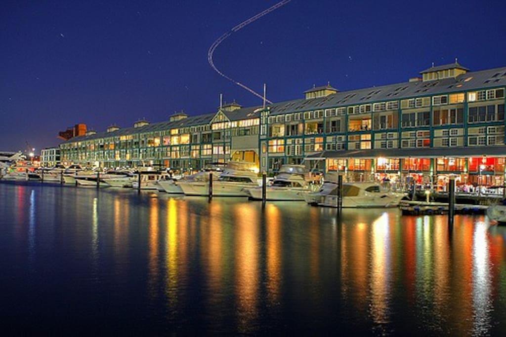 Woolloomoloo Wharf