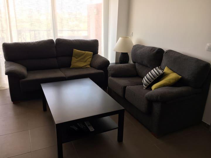 Moderno apartamento en Urbanización de Roquetas